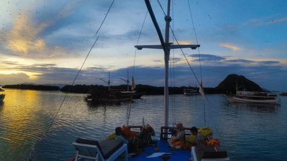 Komodo Labuan Bajo Flores, Wisata ke Pulau Padar, Pink Beach, Pulau Kalong